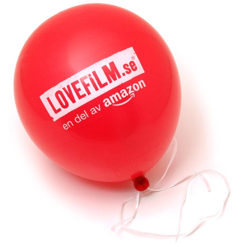 Lovefilm ballong