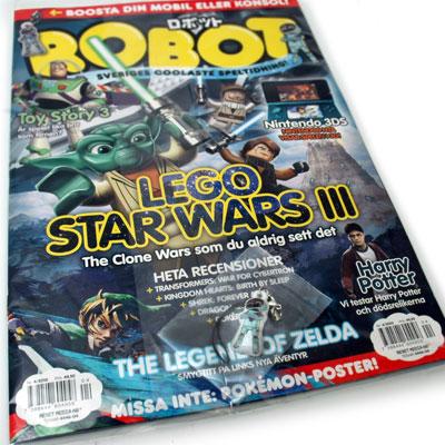 Robot tidning