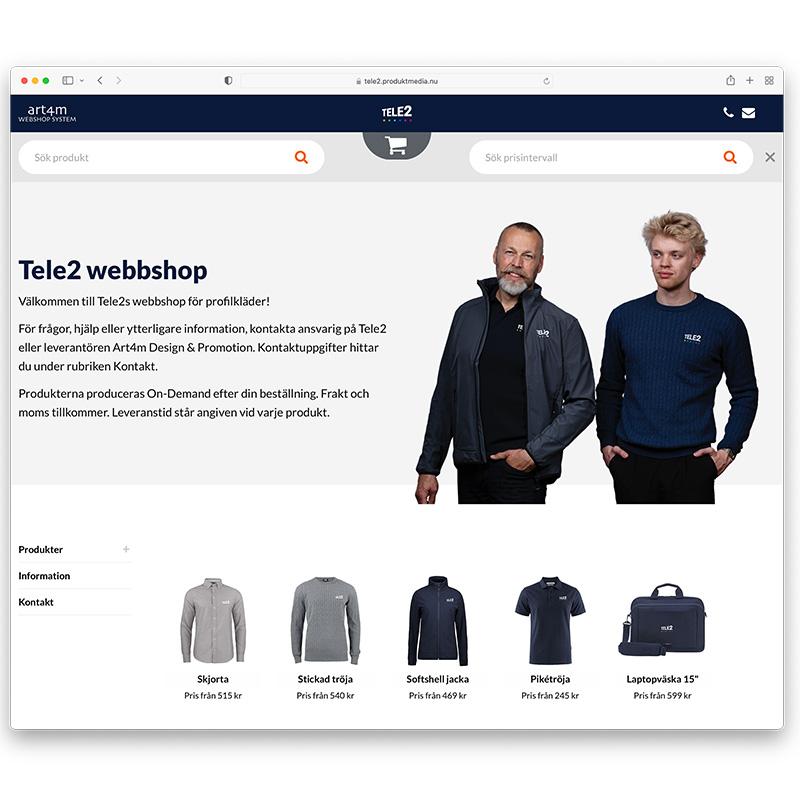 Tele2 webshop