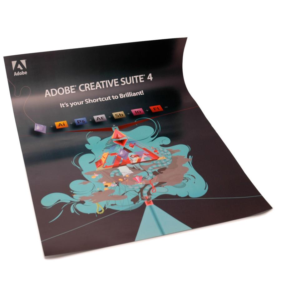 adobe affisch