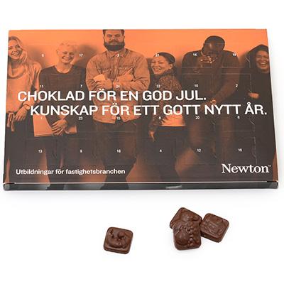Newton chokladkalender