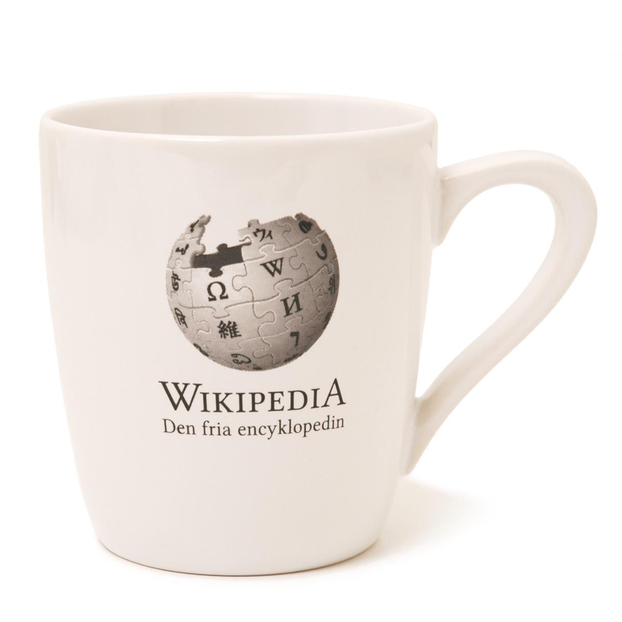 Wikipedia mugg