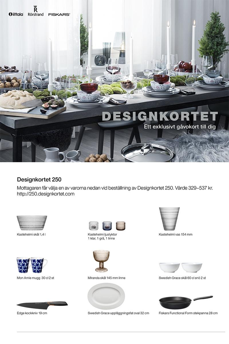 Designkort 250 1