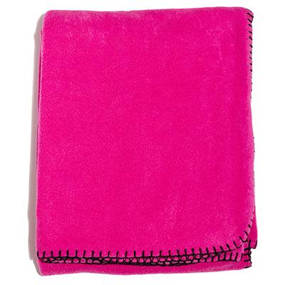 410717 poncho rosa