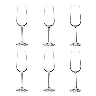 6pack glas grand cru champagne 25363