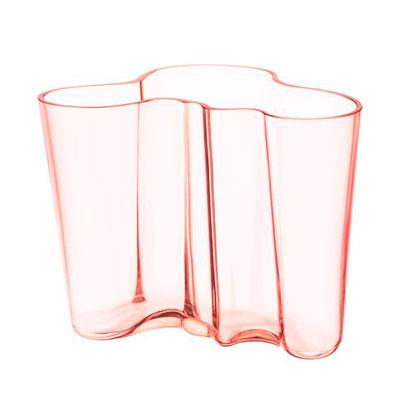 Aalto vase 160mm salmon pink2 JPG