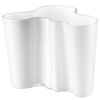 Aalto vase 160mm white