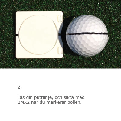 Ball Marker instruktion 2