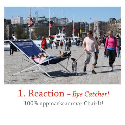 ChairIt 1 Reaction