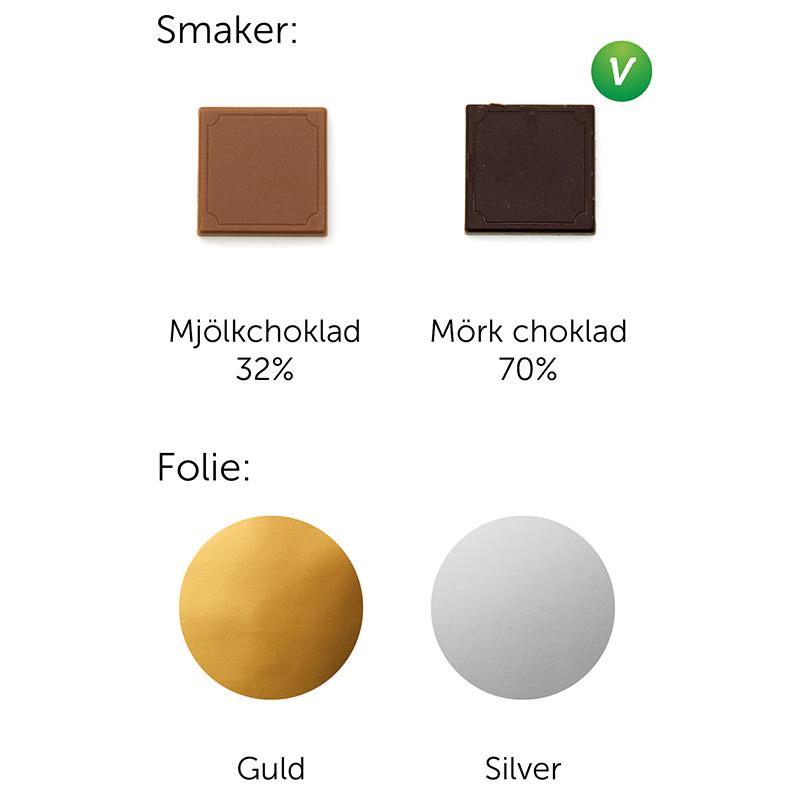 Choklad 5g smaker