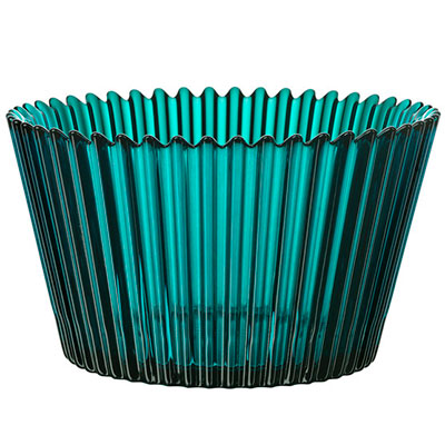 Cup Cake bowl large turquoise 7051327