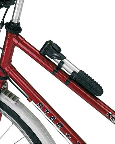 Cykelpump 56 0605101 monterad