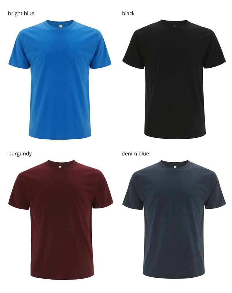 EP01 t shirt farger1
