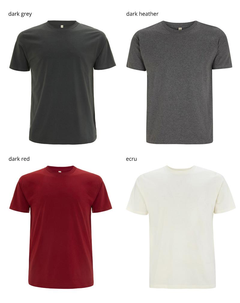 EP01 t shirt farger2