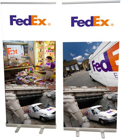 FedEx rollup