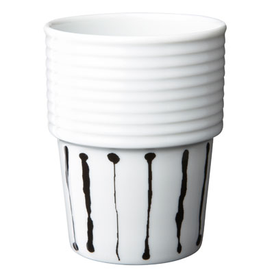 Filippa K mug 31 cl ink stripe