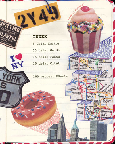I heart newyork ISBNISBN9789186283681 extra