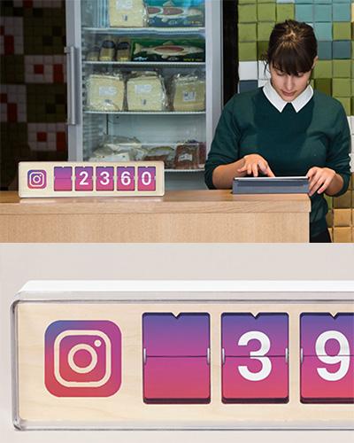 Instagram raknare