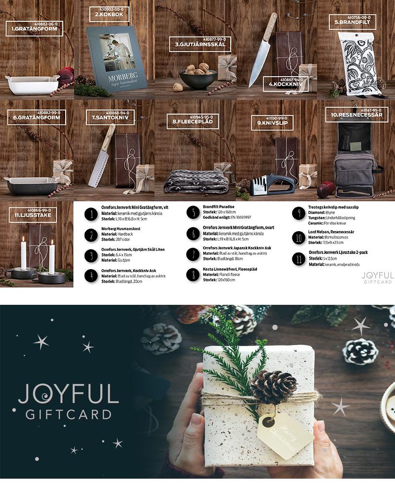 Joyful Giftcard medgavor 2019