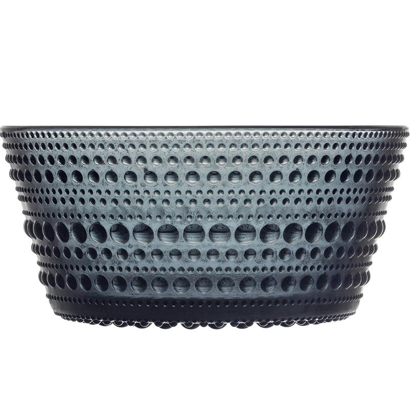 Kastehelmi bowl 23cl dark grey