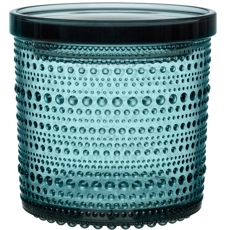 Kastehelmi jar 116x114mm sea blue
