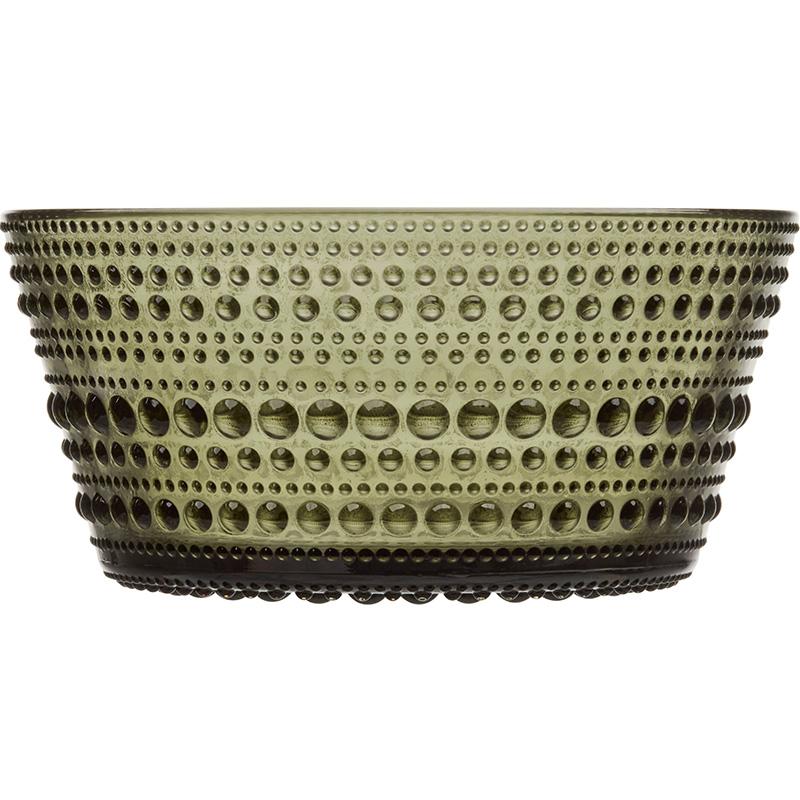 Kastehelmi bowl 23cl mossgreen