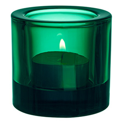 Kivi votive candleholder 60mm emerald