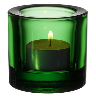Kivi votive candleholder 60mm gron