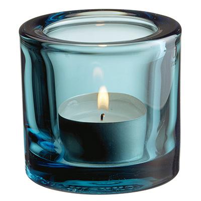 Kivi votive candleholder 60mm havsbla