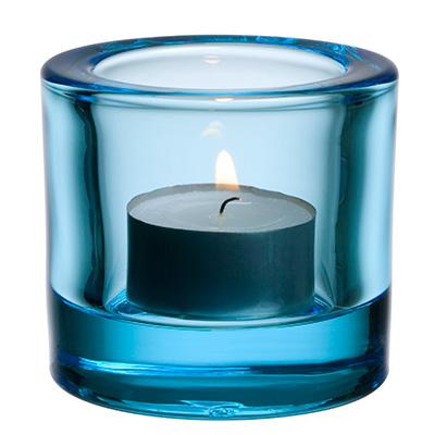 Kivi votive candleholder 60mm ljusbla