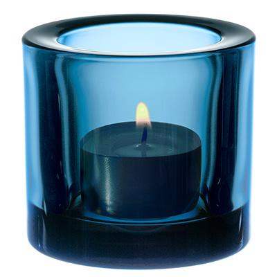 Kivi votive candleholder 60mm turkosbla