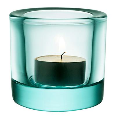 Kivi votive candleholder 60mm vattengron