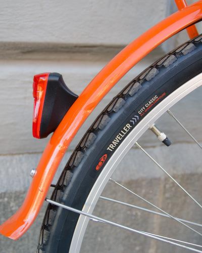 Retro cykel baklyse