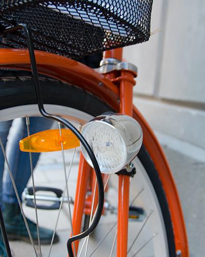 Retro cykel framlyse