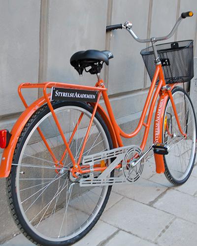 Retro cykel snett bak 2