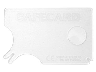 SafeCard transparent