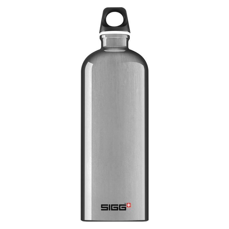 Sigg vattenflaska 1L aluminium