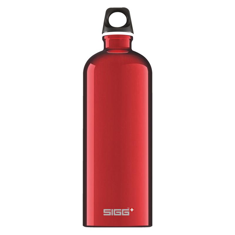Sigg vattenflaska 1L red