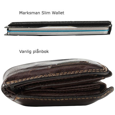 Slim Wallet vs vanlig