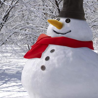 Snowman kit natur