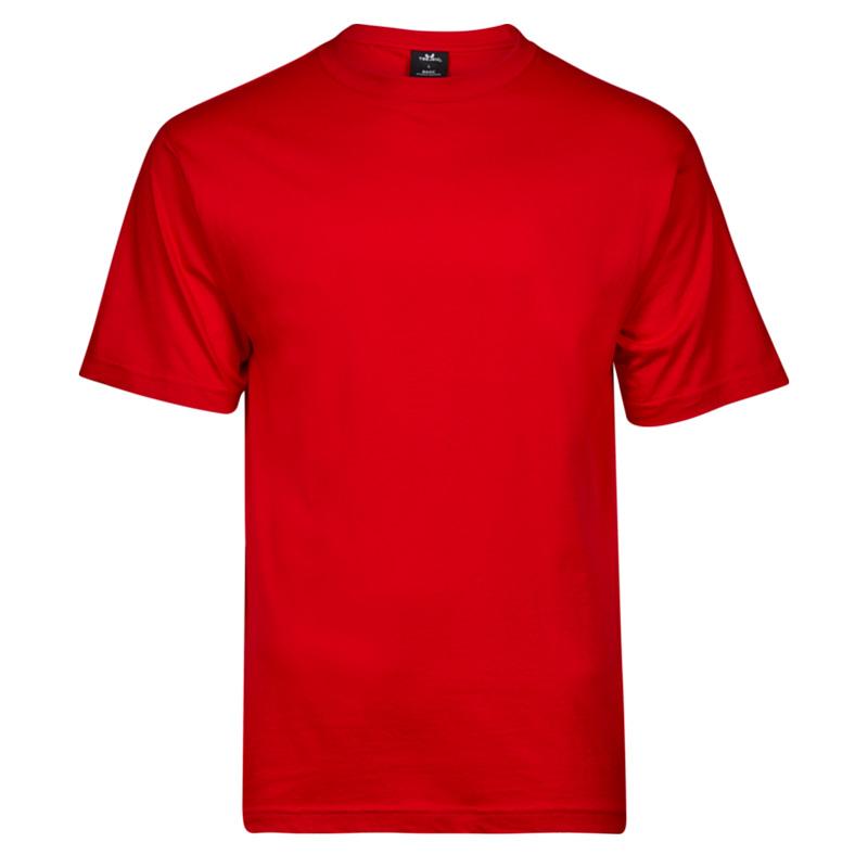 TeeJays basicTee herr red