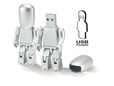 USB People silver