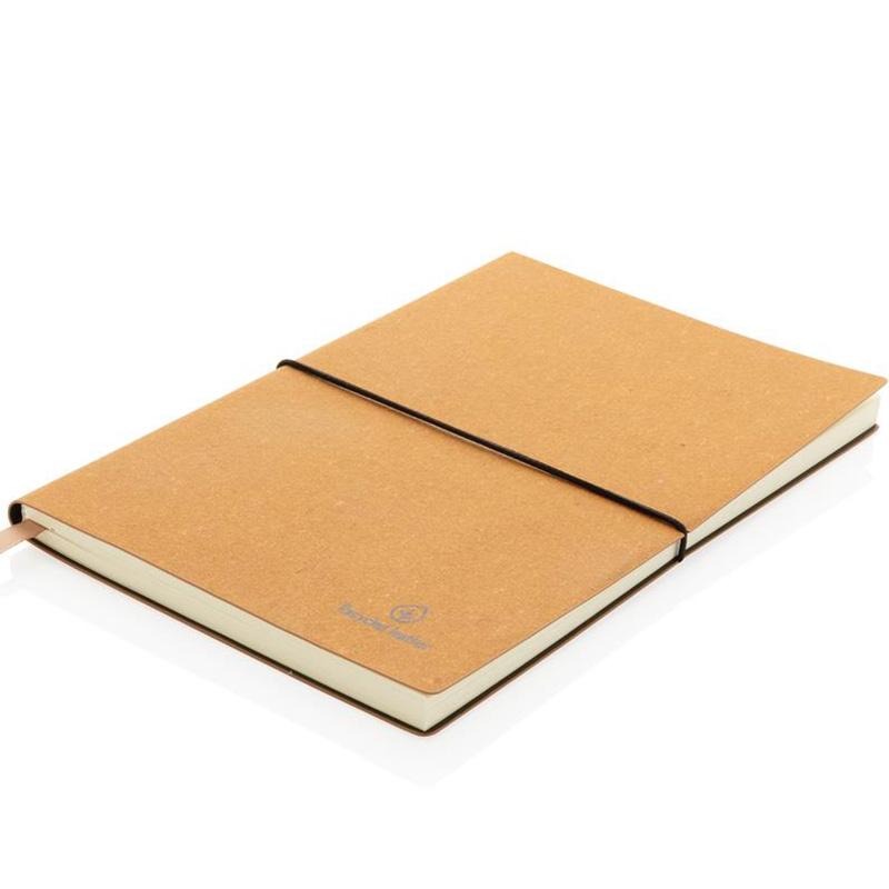 anteckningsbok a5 atervunnet lader 3
