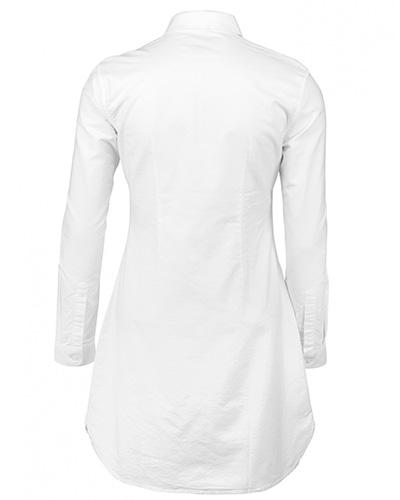 augusta skjorts vit bak