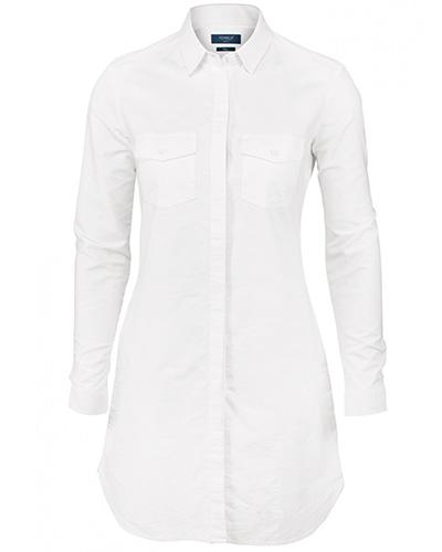augusta skjorts vit fram