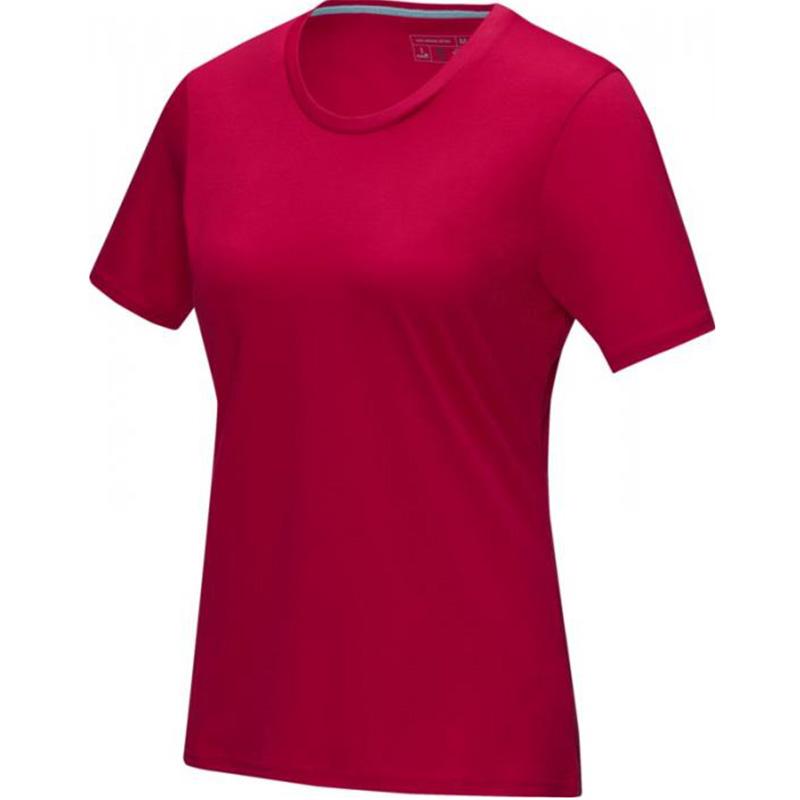 azurite ekologisk t shirt dam rod