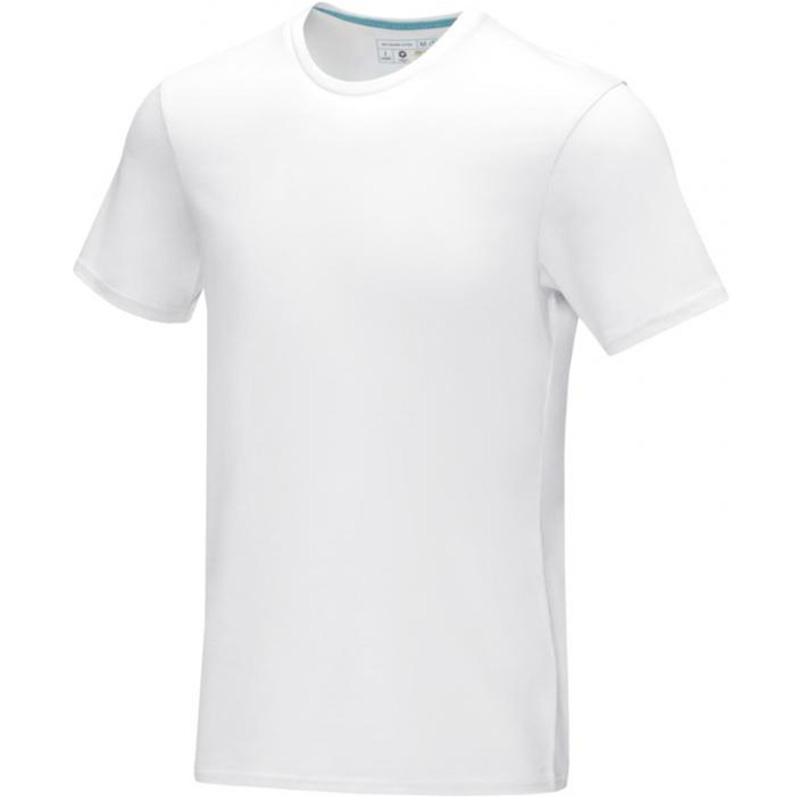azurite ekologisk t shirt herr vit