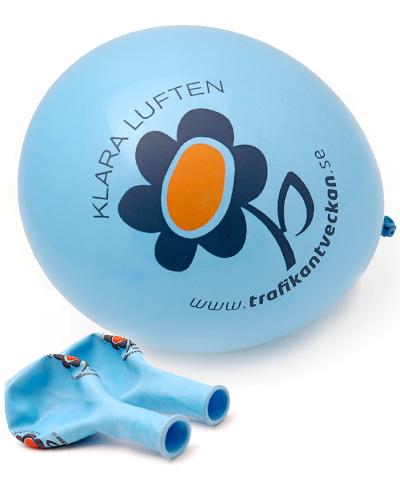 ballonger m tryck Trafikant
