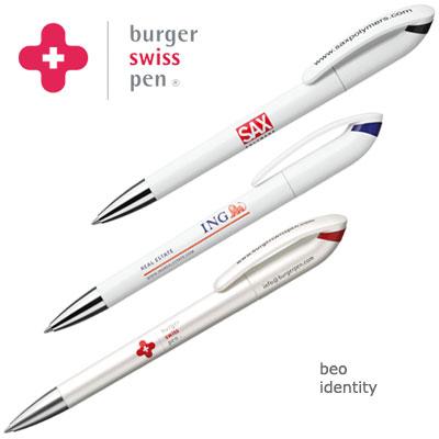 burger swiss pen beo identity