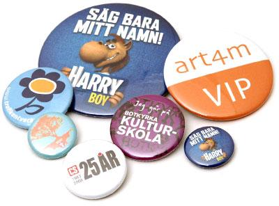 buttons blandade